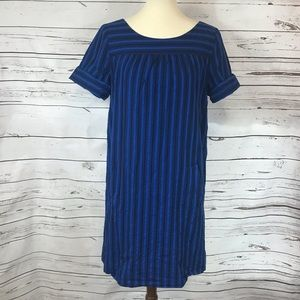 Anthropologie (HD in Paris) Blue Stripe Dress
